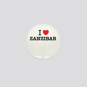 I Love ZANZIBAR Mini Button