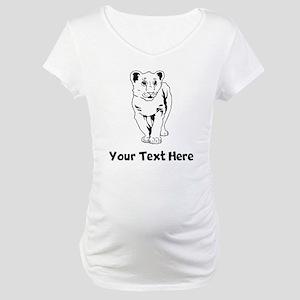 Lion Cub Maternity T-Shirt
