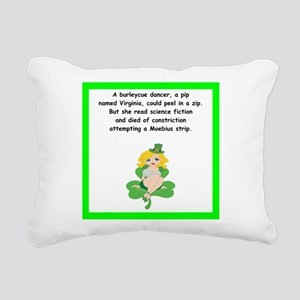limerick Rectangular Canvas Pillow