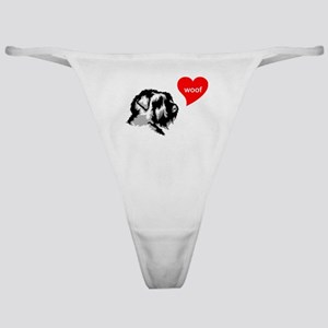 Black Russian Terrier Classic Thong