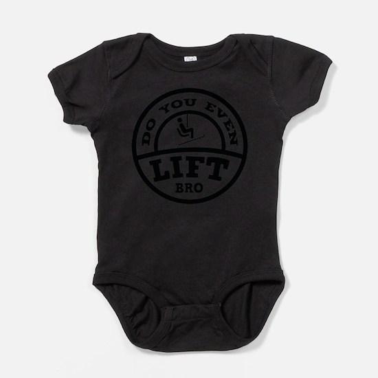 Cute Skis Baby Bodysuit
