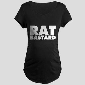 Rat Bastard Maternity Dark T-Shirt