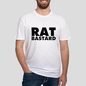 Rat Bastard Fitted T-Shirt