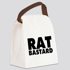 Rat Bastard Canvas Lunch Bag