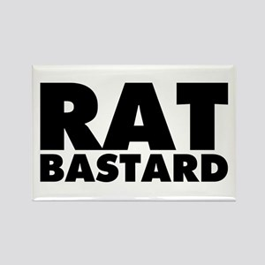 Rat Bastard Rectangle Magnet