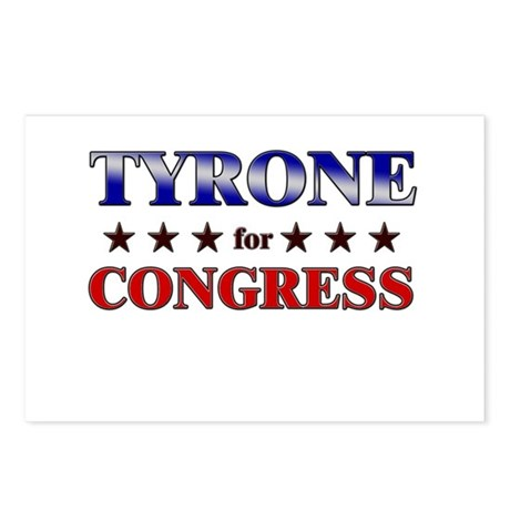 TYRONE for congress Postcards (Package of 8)