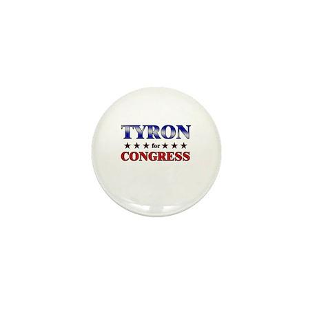 TYRON for congress Mini Button