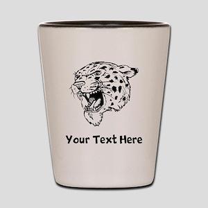 Angry Jaguar Shot Glass