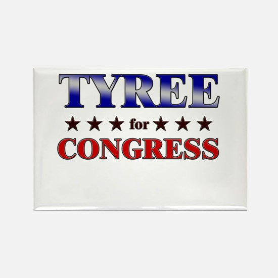TYREE for congress Rectangle Magnet