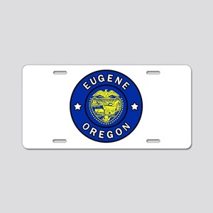 Eugene Oregon Aluminum License Plate