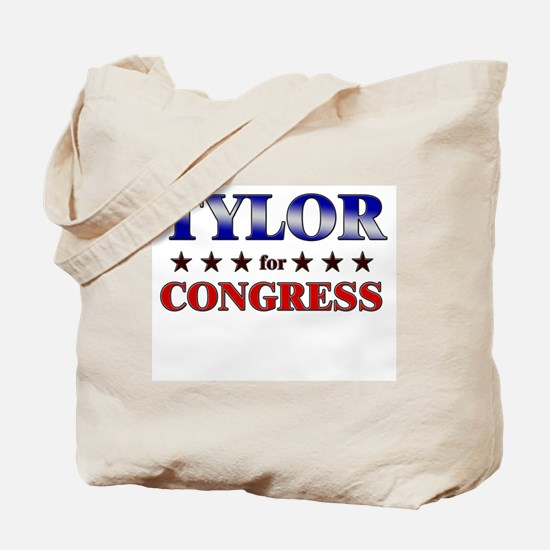TYLOR for congress Tote Bag