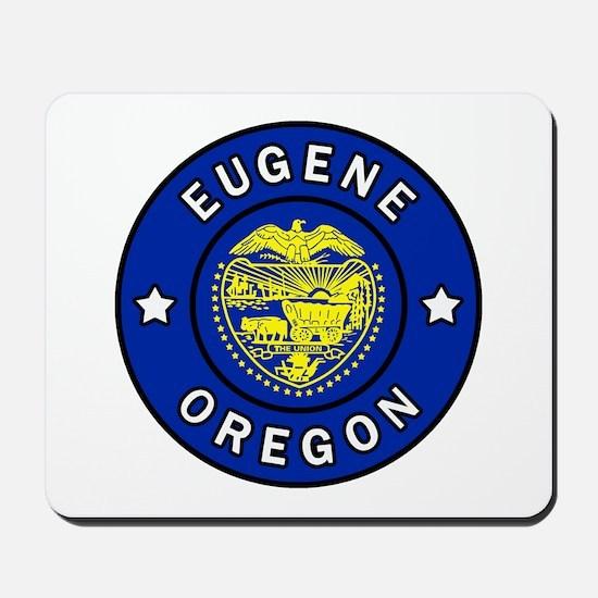 Eugene Oregon Mousepad
