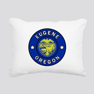 Eugene Oregon Rectangular Canvas Pillow