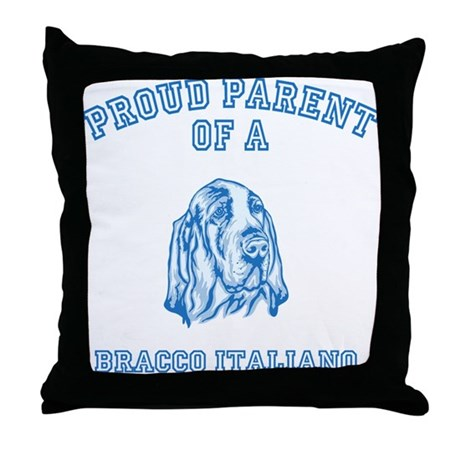 Bracco Italiano Throw Pillow