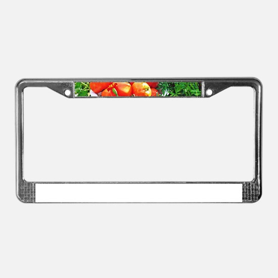 Garden Goodies License Plate Frame