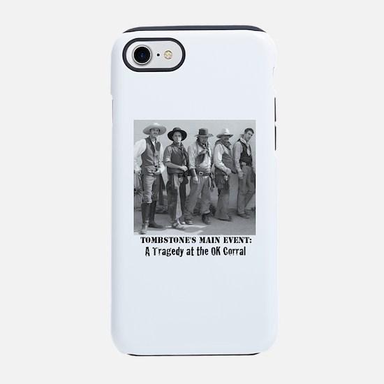 Cowboys at The OK Corral Gun iPhone 8/7 Tough Case