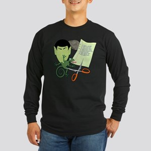Rock Paper Scissors Lizard Spock Long Sleeve T-Shi