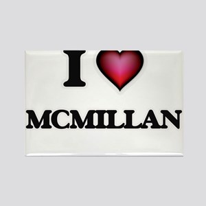 I Love Mcmillan Magnets