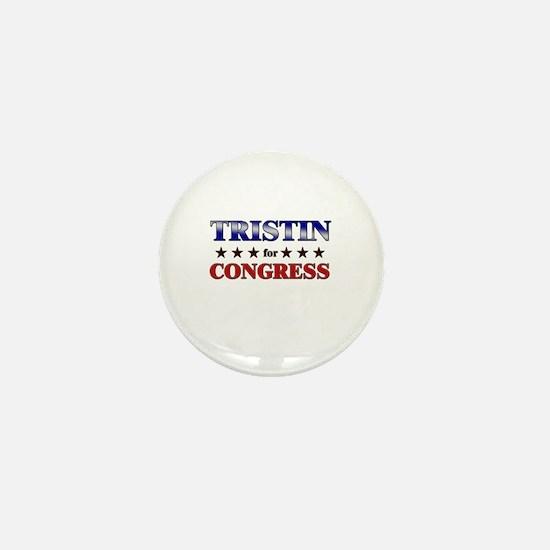 TRISTIN for congress Mini Button