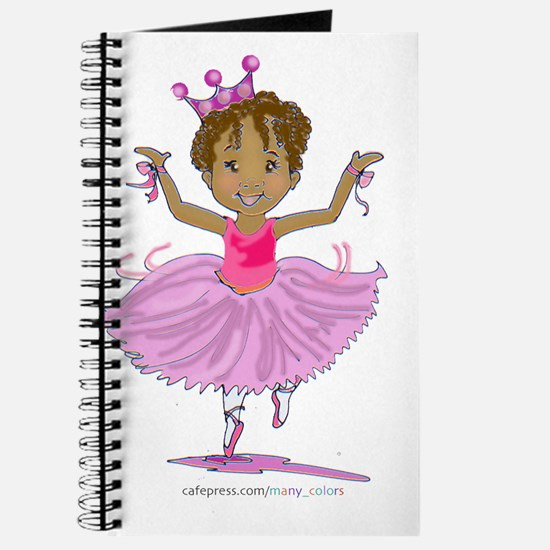 Ballerina Dancer Journal