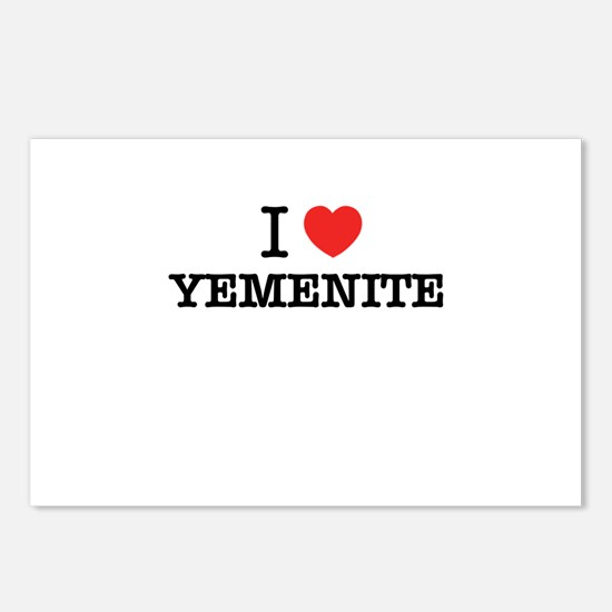 I Love YEMENITE Postcards (Package of 8)