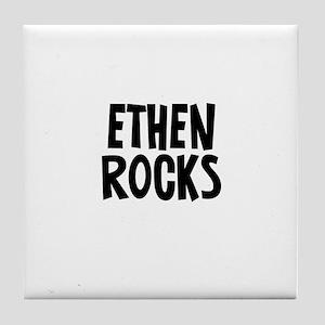 Ethen Rocks Tile Coaster