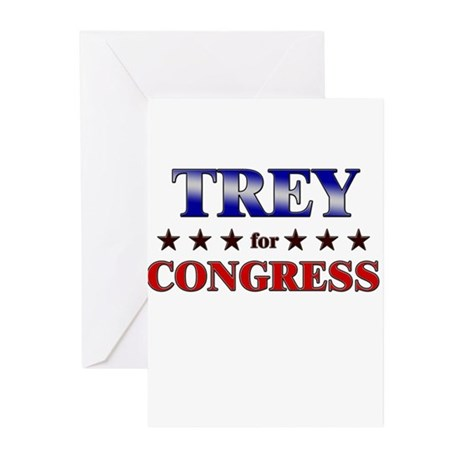 TREY for congress Greeting Cards (Pk of 20)
