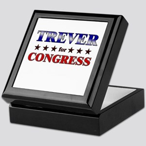 TREVER for congress Keepsake Box
