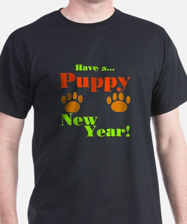 Puppy New Year! T-Shirt