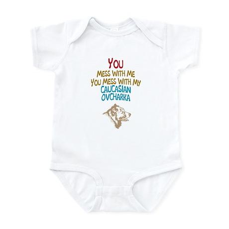 Caucasian Ovcharka Infant Bodysuit