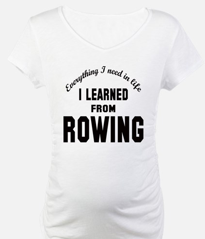 I learned from Rowing Shirt
