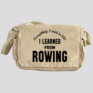 I learned from Rowing Messenger Bag