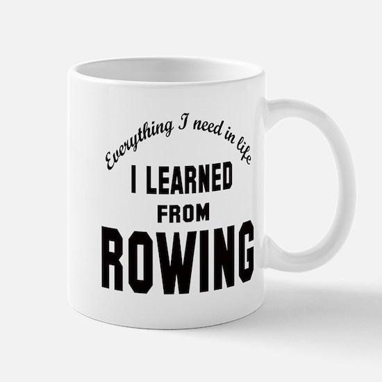 I learned from Rowing Mug