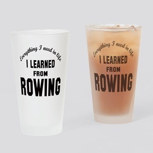 I learned from Rowing Drinking Glass