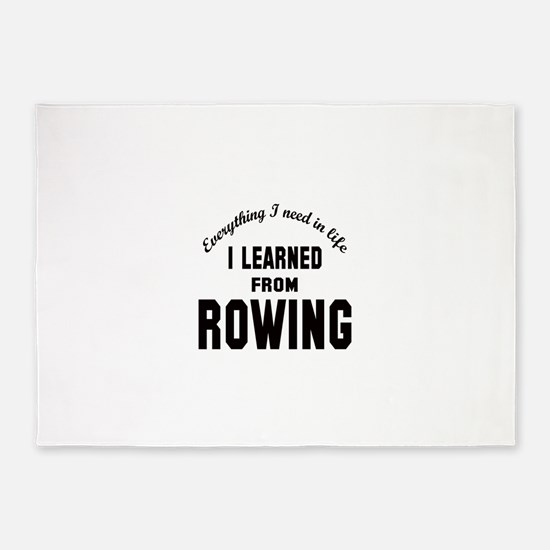 I learned from Rowing 5'x7'Area Rug