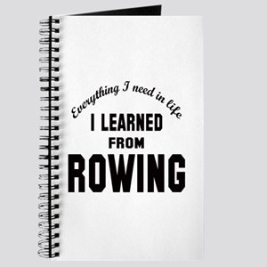 I learned from Rowing Journal