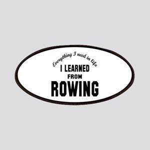 I learned from Rowing Patch