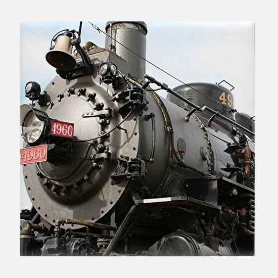 Grand Canyon Railway locomotive, Ariz Tile Coaster