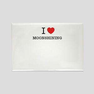 I Love MOONSHINING Magnets