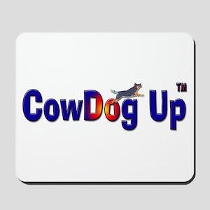 """CowDog Up"" TM Mousepad"