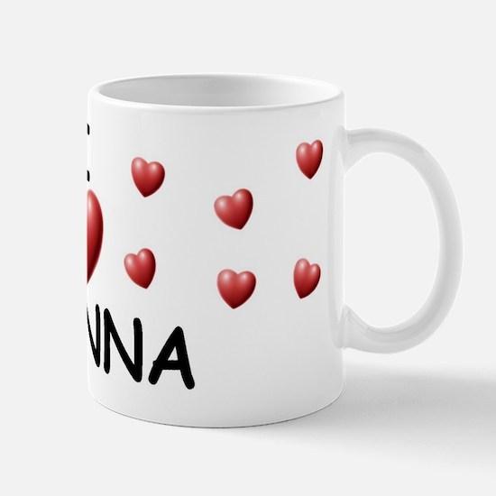 I Love Alanna - Mug