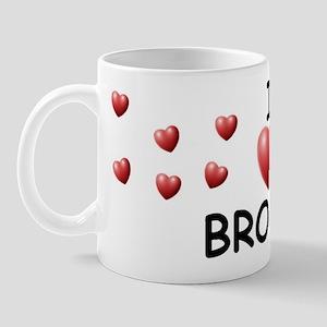 I Love Brooks - Mug