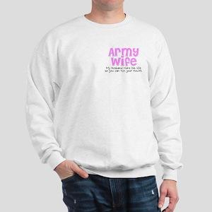 10 Things - Army Wife Sweatshirt