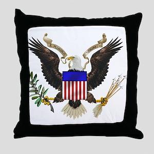 U.S. Seal Throw Pillow