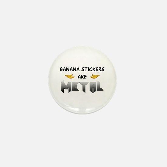 Banana Stickers Mini Button