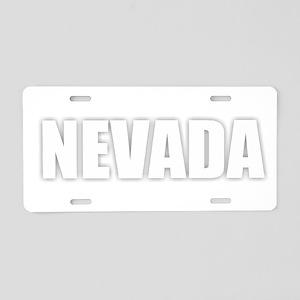 NEVADA Aluminum License Plate