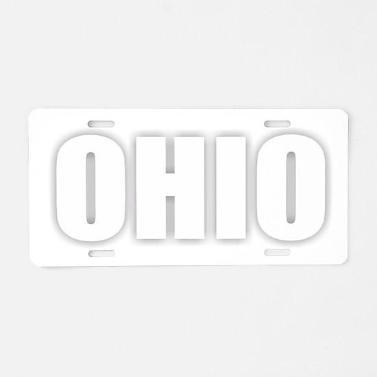 OHIO Aluminum License Plate