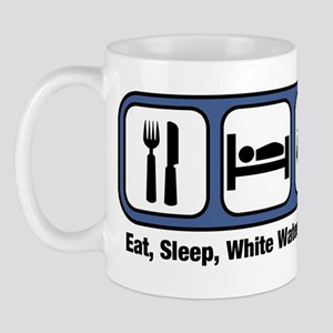 Eat, Sleep, White Water Rafti Mug
