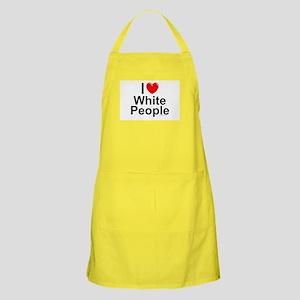 White People Apron
