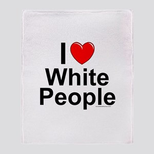 White People Throw Blanket